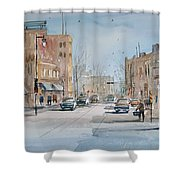 Rush Hour - Fond Du Lac Shower Curtain