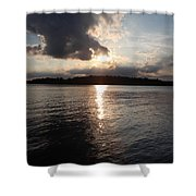 Rush Lake  Shower Curtain