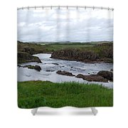 Rushing River Shower Curtain