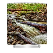 Rushing Stream Shower Curtain