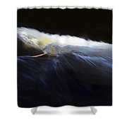 Rushing Water 0480a Shower Curtain