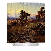 Russell Charles Marion The Stranglers Shower Curtain
