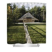 Russell-colbath Historic Homestead - White Mountains Nh Shower Curtain