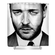 Russell Crowe  Shower Curtain