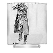 Russell: Stage Robber Shower Curtain