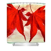 Russet Duet Shower Curtain