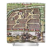 Russia: Moscow, 1591 Shower Curtain