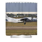 Russian Air Force An-26 Taking Shower Curtain