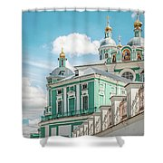 Russian Orthodox Cathedral. Shower Curtain
