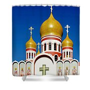 Russian Orthodox Shower Curtain
