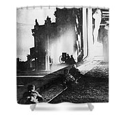 Russian Revolution, 1917 Shower Curtain