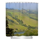 Russian River 3 Shower Curtain