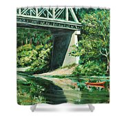 Russian River Shower Curtain