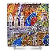 Wall Of Life Shower Curtain