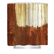 Rust 01 Shower Curtain