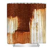 Rust 02 Shower Curtain