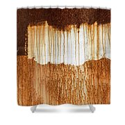 Rust 03 Shower Curtain