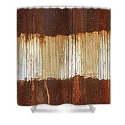 Rust 04 Shower Curtain