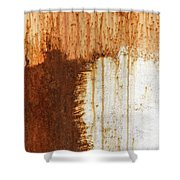 Rust 05 Shower Curtain