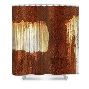 Rust 06 Shower Curtain