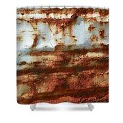 Rust 22 Shower Curtain