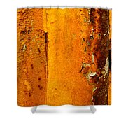 Rust Abstract 2 Shower Curtain