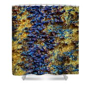 Rust Abstract 7 Shower Curtain