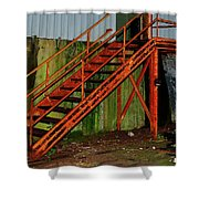 Rust And Mold Shower Curtain