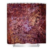 Rust Autumn Shower Curtain