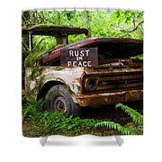 Rust In Peace 2 Shower Curtain