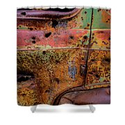 Rusted Beauty Shower Curtain
