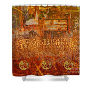 Rusted Glory 313 Shower Curtain