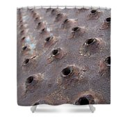 Rusted Pattern Shower Curtain