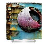 Rusted Series 3 Shower Curtain