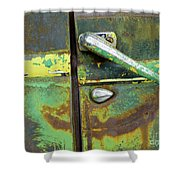 Rusted Series 4 Shower Curtain