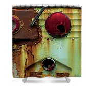 Rusted Series 5 Shower Curtain