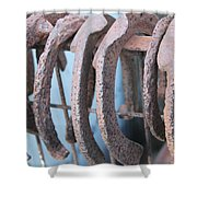 Rusted Shoes Shower Curtain