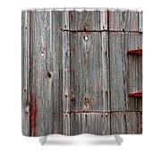 Rusted Shut Shower Curtain