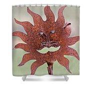Rusted Sunshine Shower Curtain