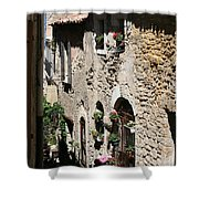 Rustic Provence Alley Shower Curtain