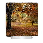 Rustic Autumn  Shower Curtain