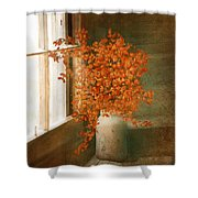 Rustic Bouquet Shower Curtain