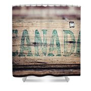 Rustic Canada Shower Curtain