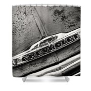 Rustic Chevrolet Shower Curtain