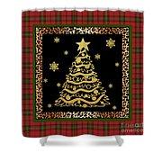 Rustic Christmas-jp3697 Shower Curtain