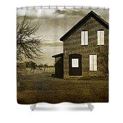 Rustic County Farm House Shower Curtain