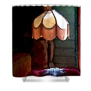 Rustic Elegance Shower Curtain