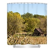Rustic Escape Shower Curtain