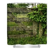 Rustic Gate Shower Curtain