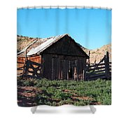 Rustic In Colorado Shower Curtain